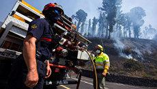 Лесные пожары в Испании. Архивное фото