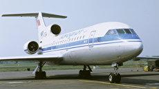 Пассажирский самолет для авиалиний малой протяженности ЯК-42. Архивное фото