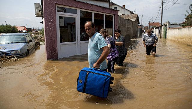 Жертвами ливня вМакедонии стали как минимум 15 человек
