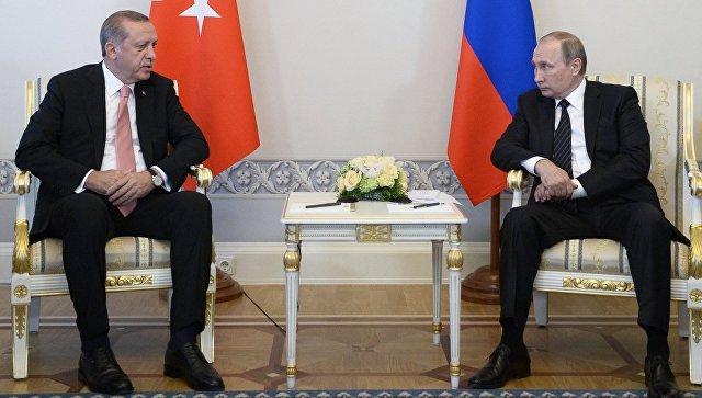 Позиции РФ иТурции поСирии невсегда совпадали— Путин