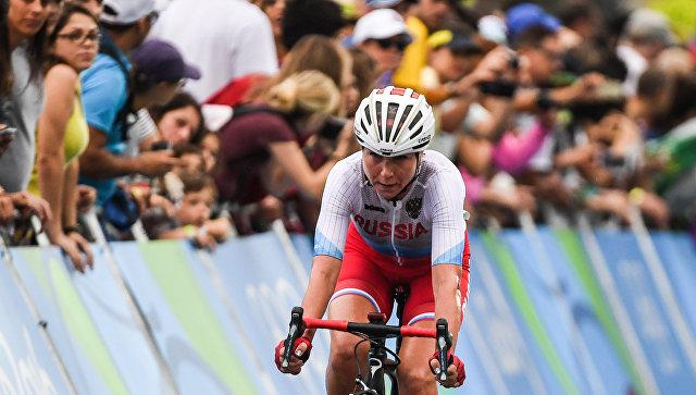 Русская велогонщица Ольга Забелинская получила серебряную медаль наОИ