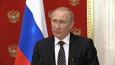 Киевские власти переходят к террору – Путин о попытке диверсии в Крыму