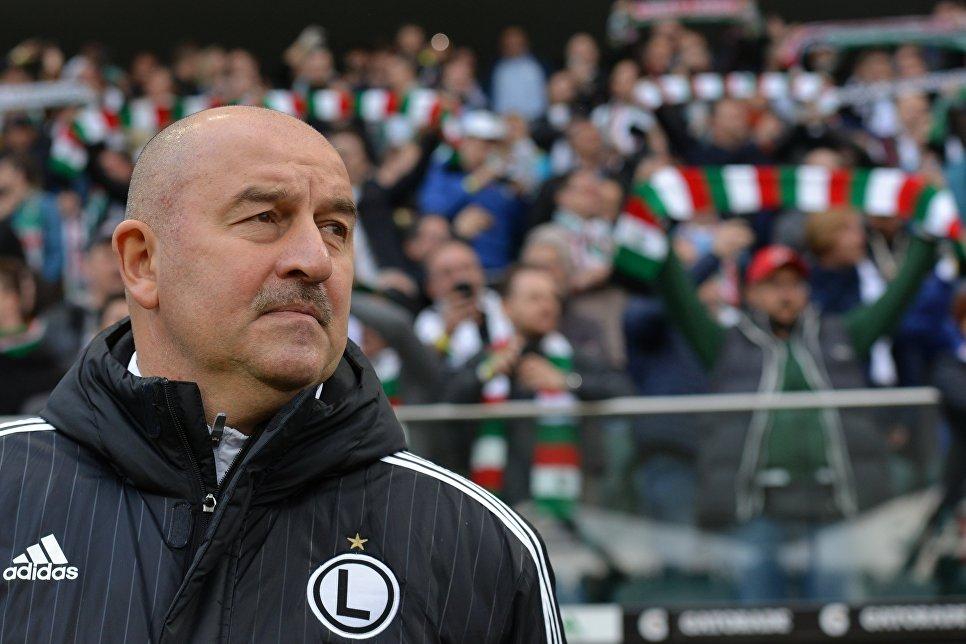 Станислав Черчесов— новый главный тренер сборной РФ
