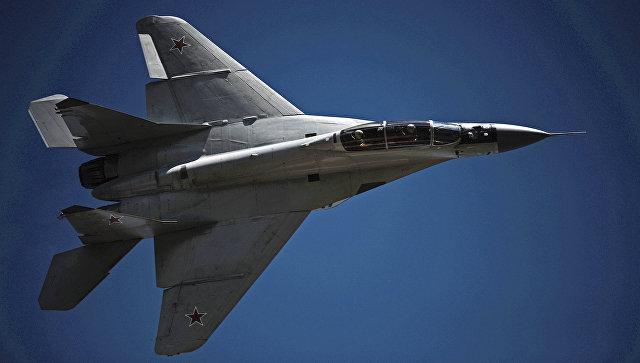 Многоцелевой истребитель МиГ-29. Архивное фото
