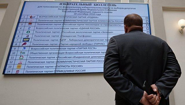 Партийная система РФ стала качественней иконкурентней