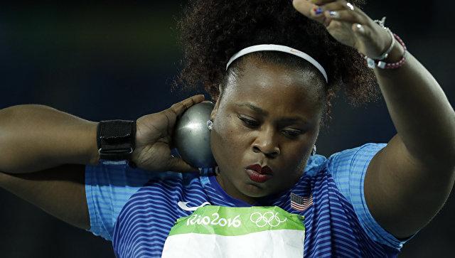 Американка Мишель Картер завоевала золото Олимпиады-2016 втолкании ядра