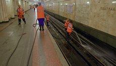 Ремонтные работы на центральном участке Замоскворецкой линии московского метро