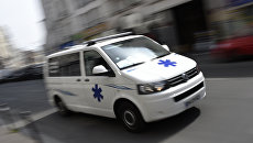 Машина скорой помощи, Франция. Архивное фото