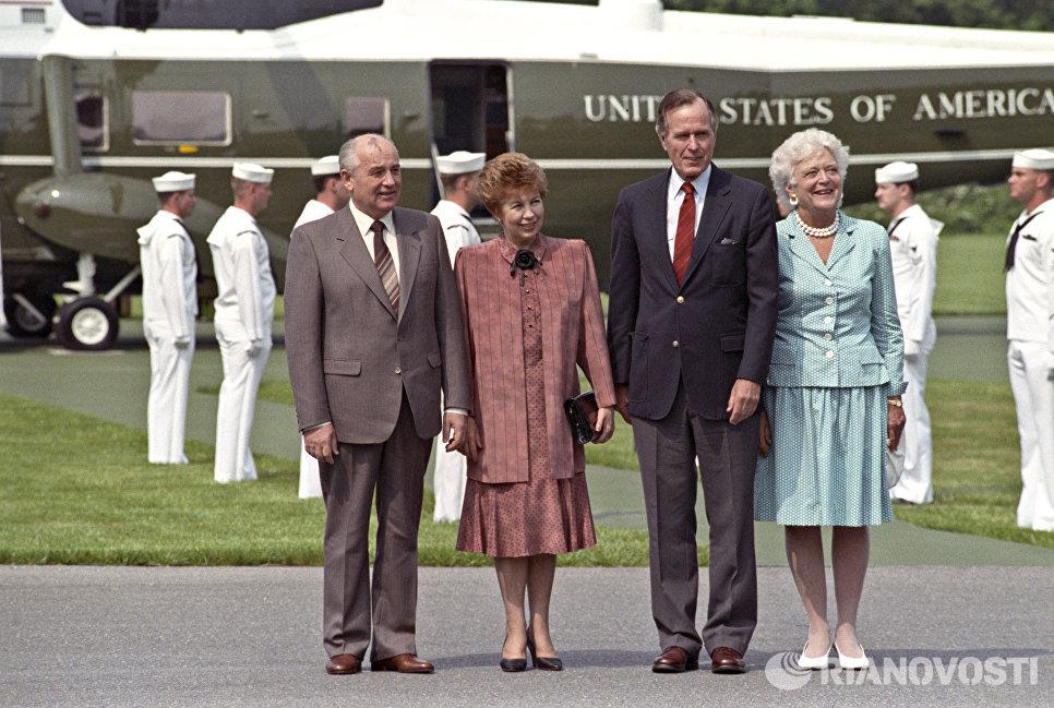Официальный визит Президента СССР, Генерального секретаря ЦК КПСС Михаила Сергеевича Горбачева в США