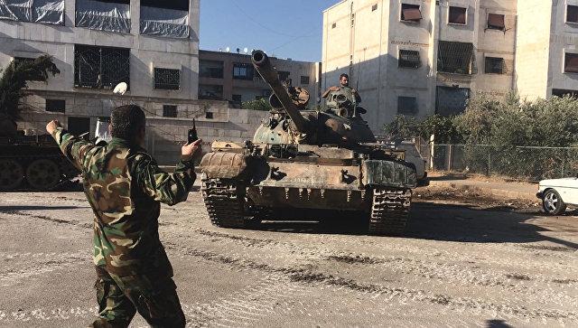 Исламские террористы изэкстремистской группировки окружили авиабазу сирийской армии вДейр-эз-Зоре