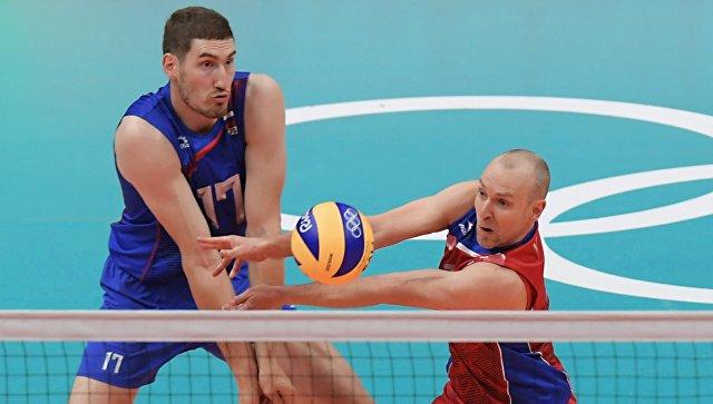 Российские волейболисты. Архивное фото