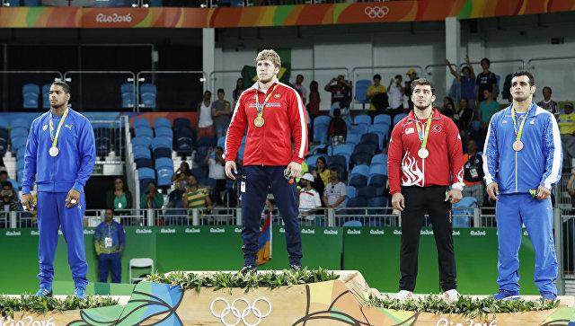 Армянский борец греко-римского стиля Артур Алексанян стал олимпийским чемпионом в Рио
