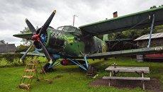 Самолёт Ан-2 - экспонат частного музея восстановленной авиа- и автотехники