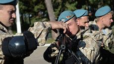 Совместные учения Коллективных сил оперативного реагирования ОДКБ Взаимодействие. Архивное фото