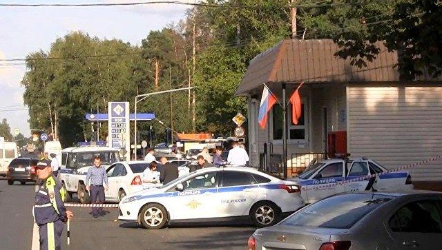 ВПодмосковье при нападении напост ДПС умер полицейский