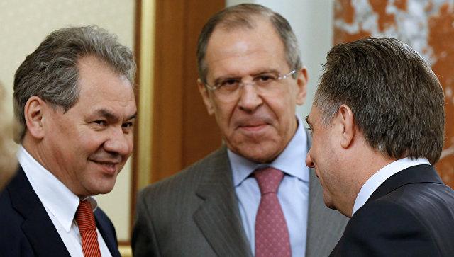 Лавров, Васильева иШойгу стали лидерами медиарейтинга русских министров