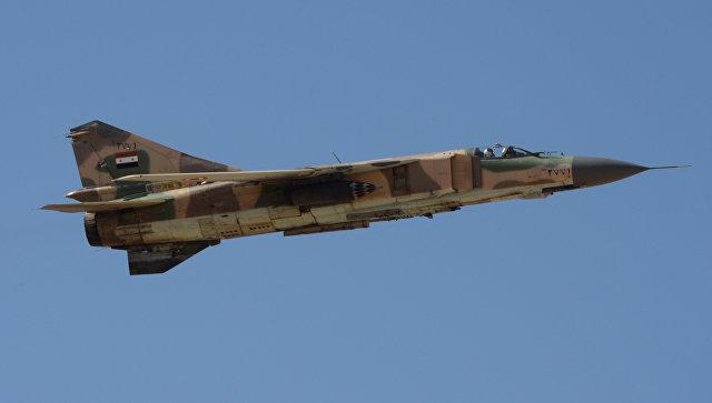 Самолет МиГ-23 ВВС Сирии. Архивное фото