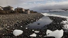 Бухта Тихая, Земля Франца-Иосифа, национальный парк Русская Арктика
