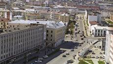 Город Магадан. 1996 год
