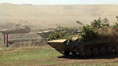 Военные учения в ЛНР. Архивное фото