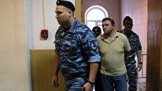 Экс-губернатор Кировской области Никита Белых в Басманном суде Москвы