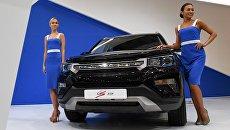 Презентация кроссовера Changan CS75 на Московском международном автомобильном салоне-2016