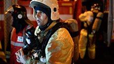 Сотрудники аварийно-спасательных служб. Архивное фото