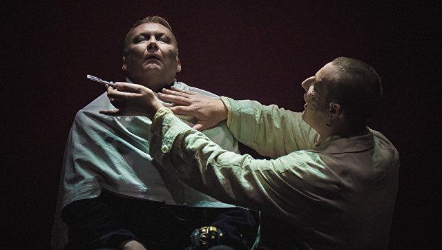 Репетиция мюзилка Суинни Тодд в Театре на Таганке