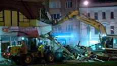Снос самостроя в Москве, или Как коммунальщики уничтожили незаконные постройки