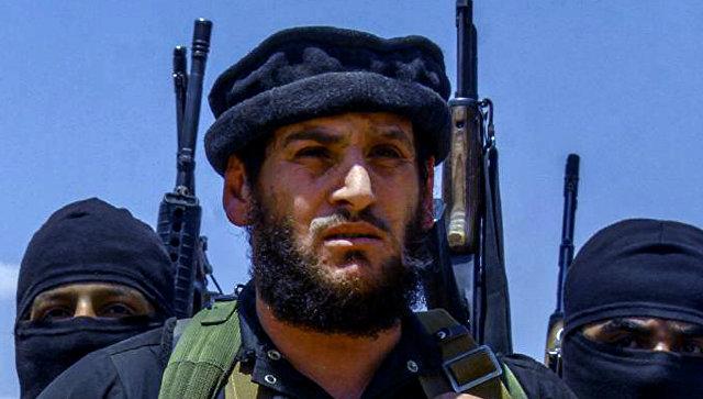 Полевой командир Абу Мухаммад Аль-Аднани. Архивное фото