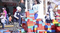 Мероприятия для детей на Красной площади в рамках фестиваля Спасская башня