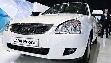 Автомобиль Lada Priora. Архивное фото
