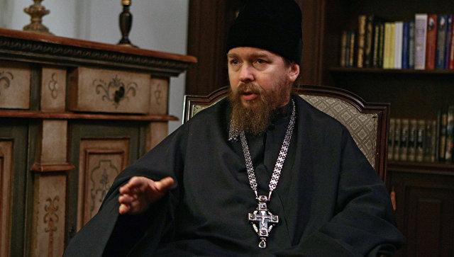 Наместник Сретенского монастыря епископ Тихон