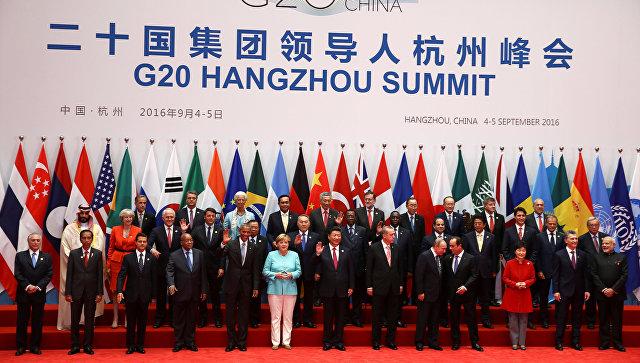 саммит g20 2016 в китае фото