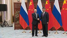 Мороженое для лидера КНР - Путин сообщил Си Цзиньпину о необычном подарке