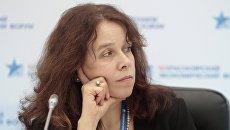 Член ОП РФ и СПЧ Елена Тополева-Солдунова. Архивное фото