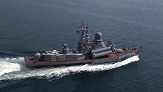 Корабли Черноморского флота и Каспийской флотилии. Архивное фото