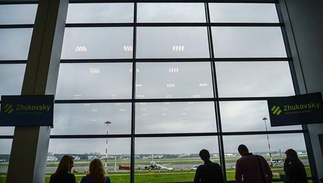 Подмосковный аэропорт Жуковский принял 1-ый пассажирский рейс