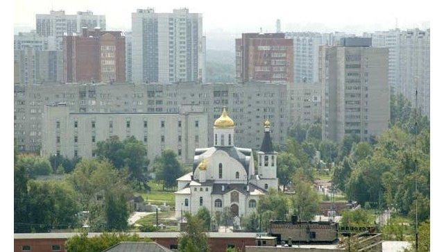 Храм Казанской Иконы Божией Матери в Реутове . Архивное фото