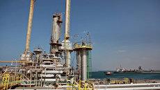 Нефтяной терминал в Ливии. Архивное фото