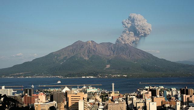 Ученые: Скорое извержение вулкана вЯпонии погубит «Неаполь Востока»