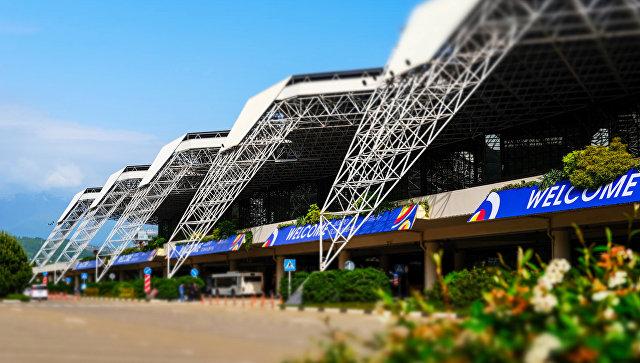 Сочинский международный аэропорт уже принял 4 млн. пассажиров