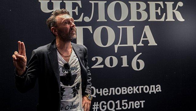 Солист группы Ленинград Сергей Шнуров на вручении премии Человек года по версии журнала GQ в концертном зале Барвиха Luxury Village
