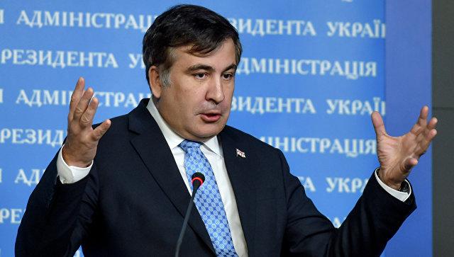 Губернатор Одесской области Михаил Саакашвили, архивное фото