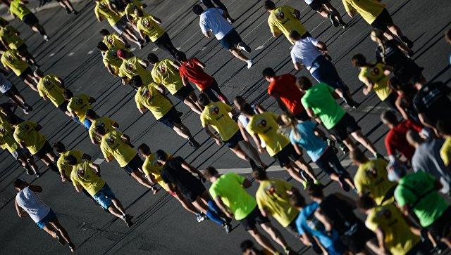 Московский марафон 2015. Архивное фото