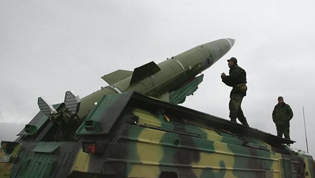 Пуск тактической ракеты Балтийского флота. Архивное фото