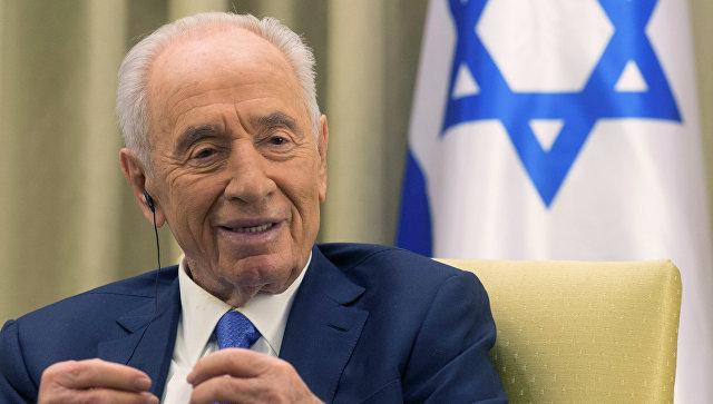 Экс-президент Израиля Шимон Перес. Архивное фото.