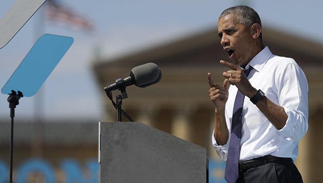 Песков поведал отоне Обамы впроцессе разговоров сПутиным