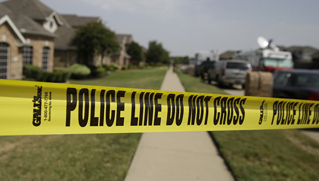Полицейское оцепление. Архивное фото