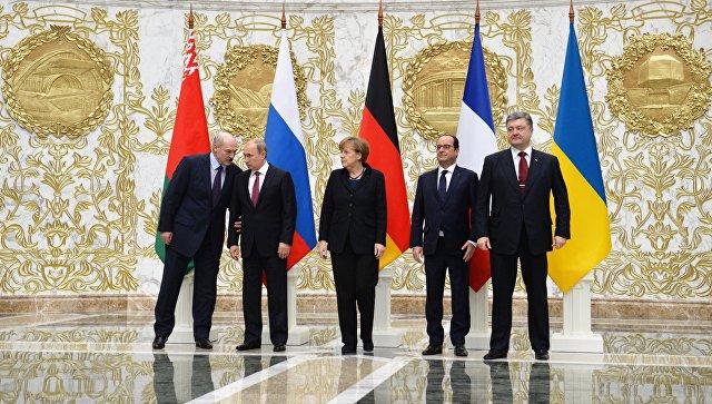ВКремле назвали условия для встречи «нормандской четверки»
